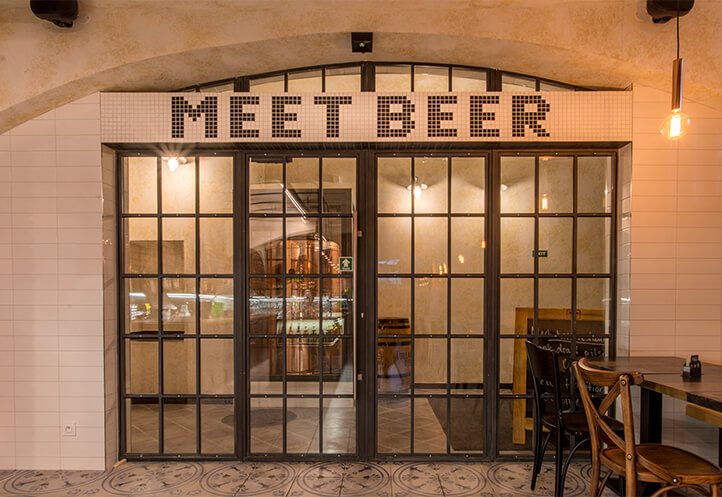 Meet Beer entrance - Homepage